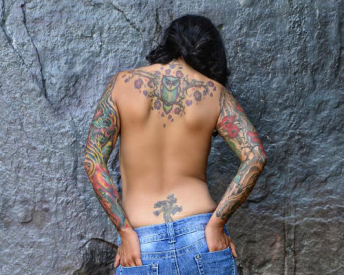 Amateur Tattoo Wife Anal